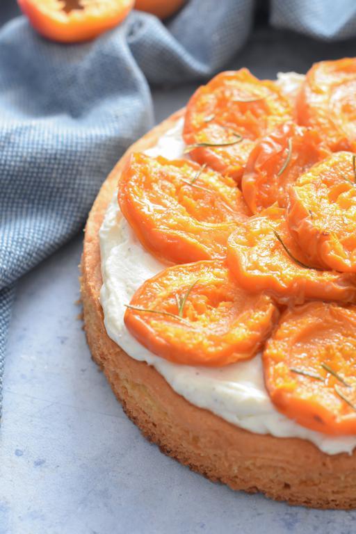tarte abricots vanille huile dolive 12