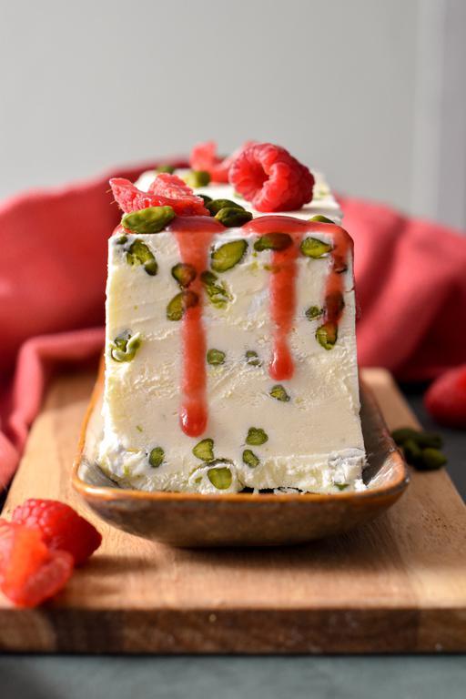 nougat glace pistache framboise 9
