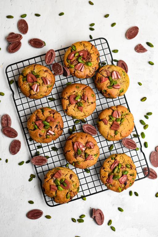 cookies framboise pistache 6