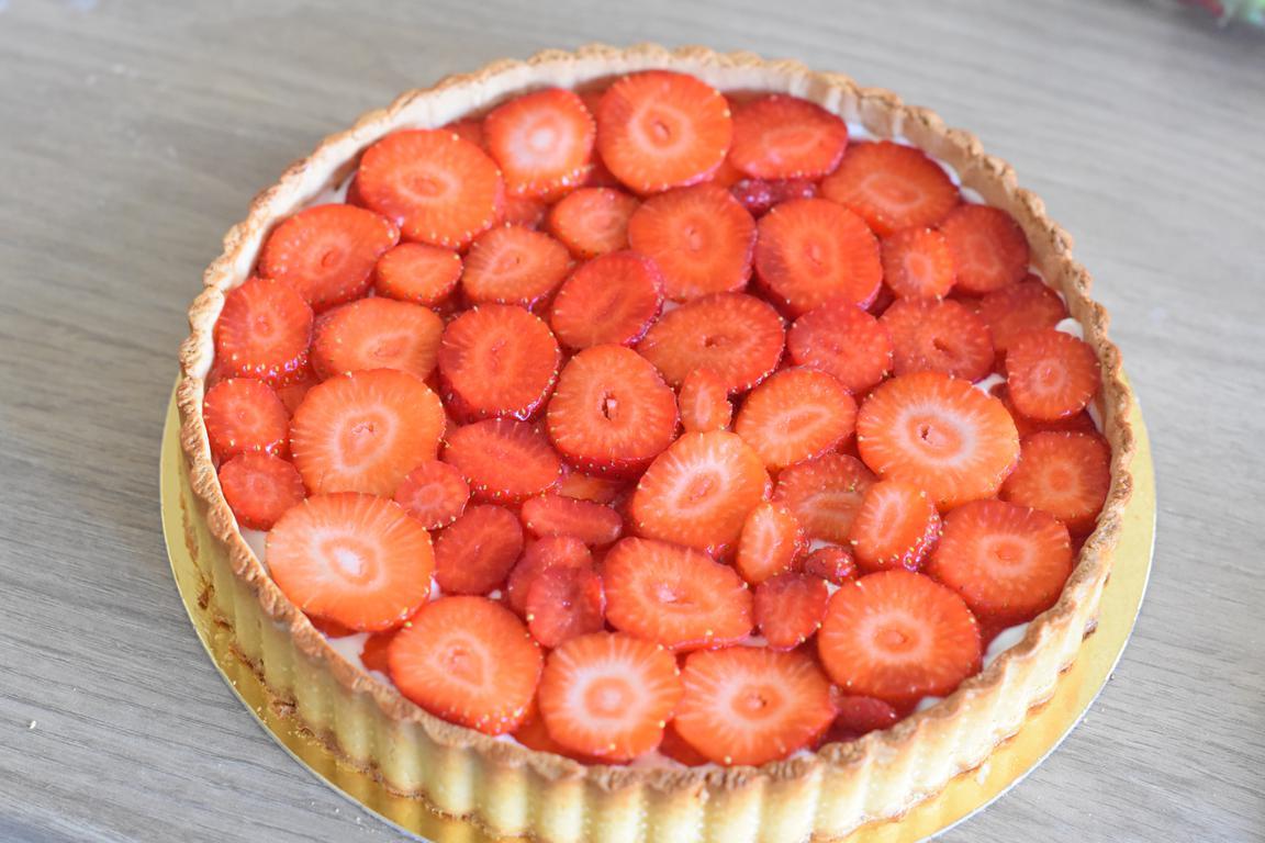 tarte fraise yaourt 8