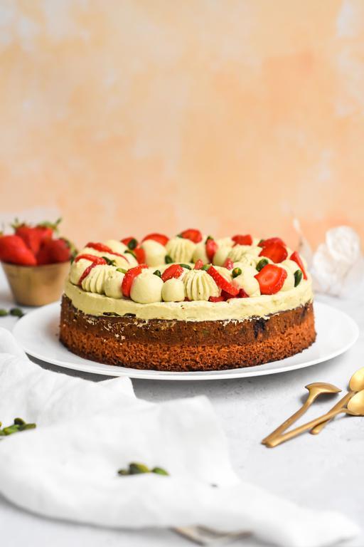 gateau pistache fraise 16