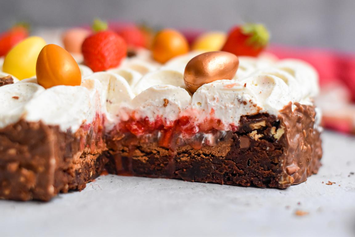brownie fraise paques 24