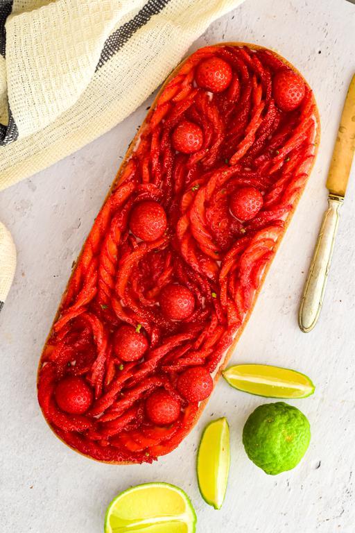 tarte pannacotta fraise combawa 13