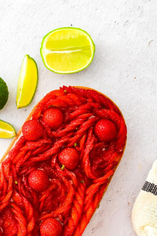 tarte pannacotta fraise combawa 11