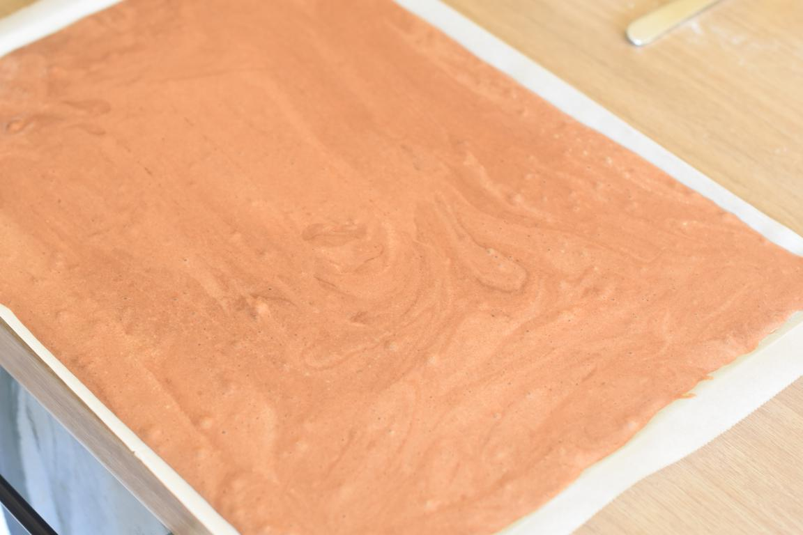 gateau roule choco fraise 8