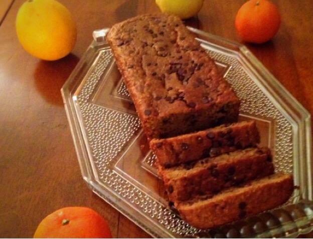 Bread cake citron & orange aux pépites de chocolat