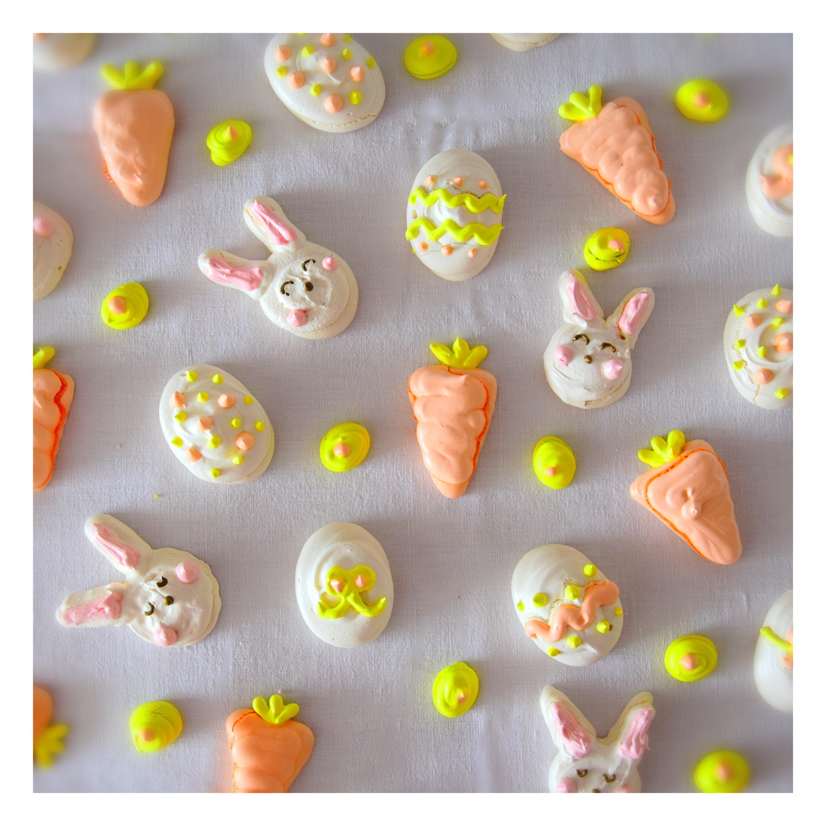 Petites meringues de Pâques