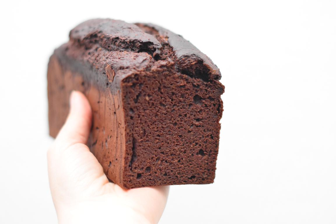 Banana bread au chocolat (sans sucre ni beurre)