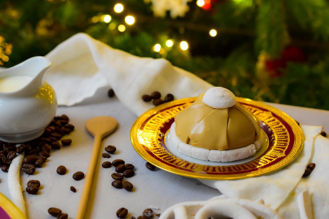 Bonnets de Noël cappuccino