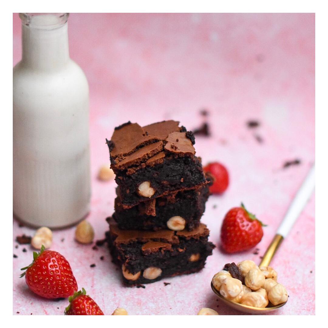 Brownie croquant & fondant