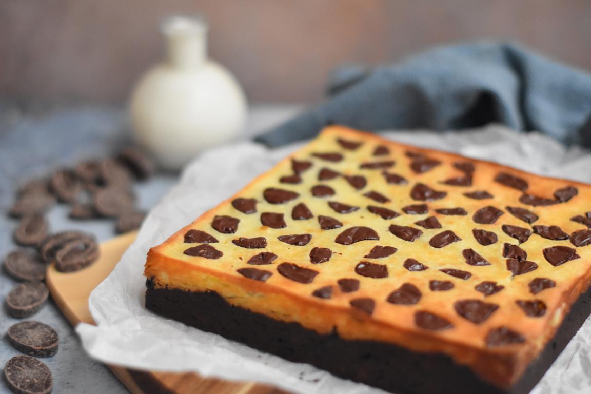 brownie cheesecake 7