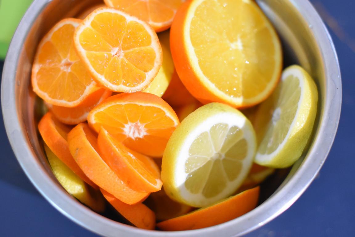 buche agrumes miel 1