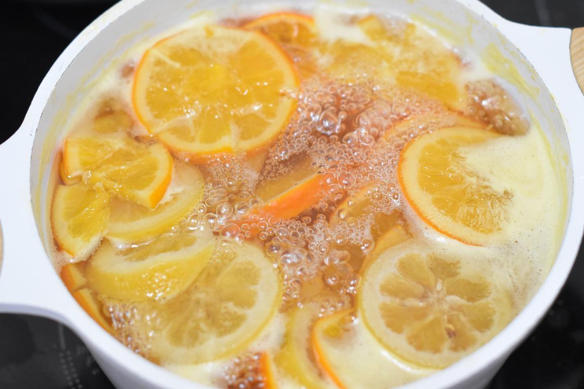 buche agrumes miel 3