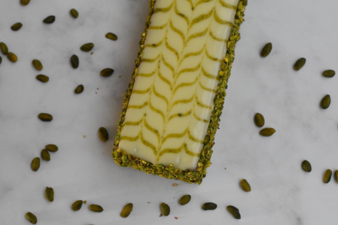 Cake marbré à la pistache (Nicolas Paciello)