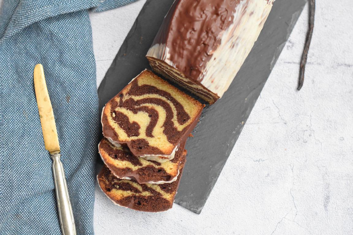 Cake marbré (Nicolas Bacheyre)