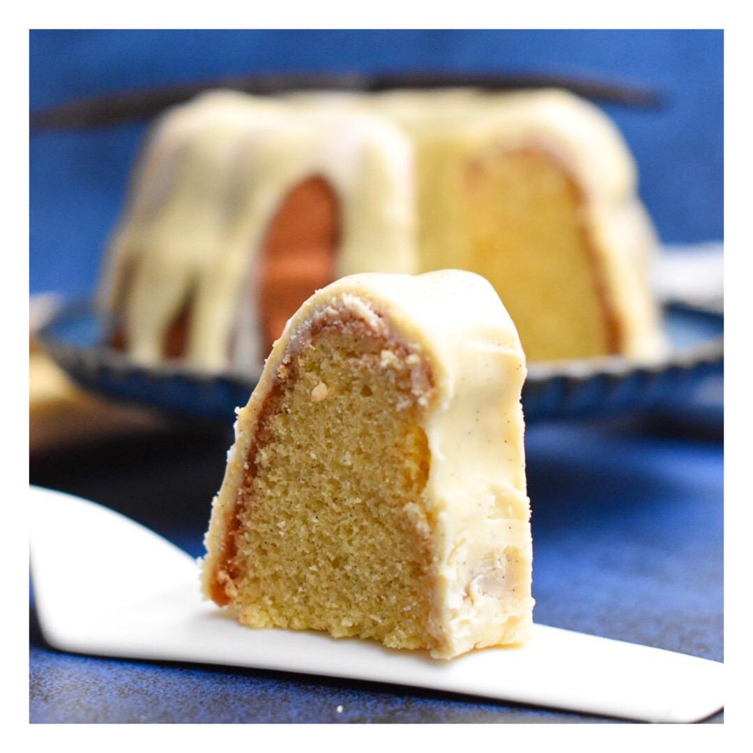 Bundt cake à la vanille (inspiration Nicolas Paciello)
