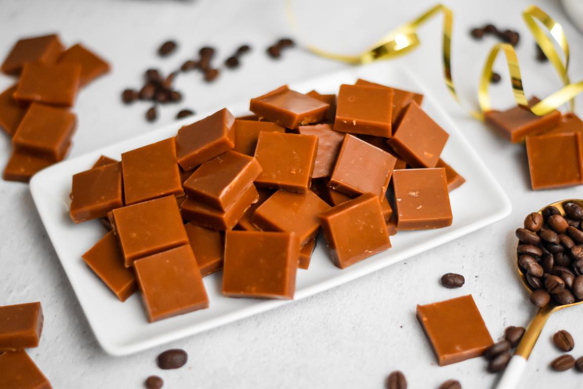 Caramels mous au beurre salé (café, vanille...)