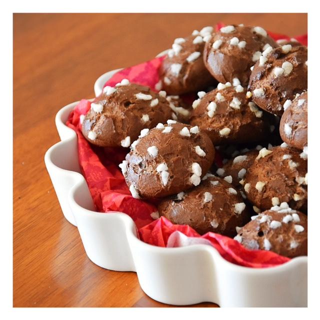 Chouquettes au cacao