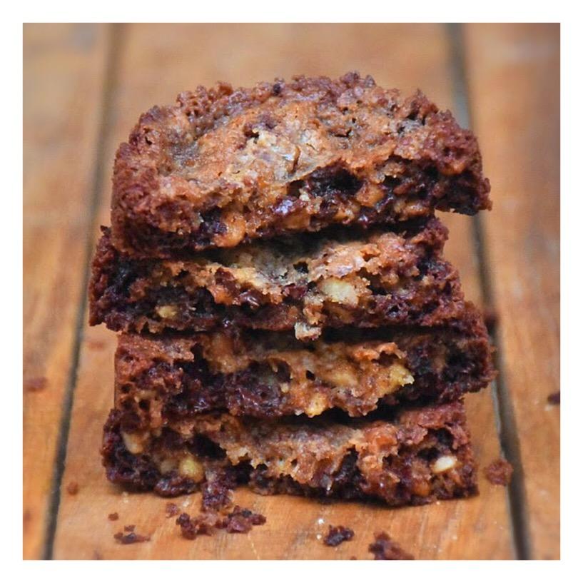 Cookies sablés chocolat & noix