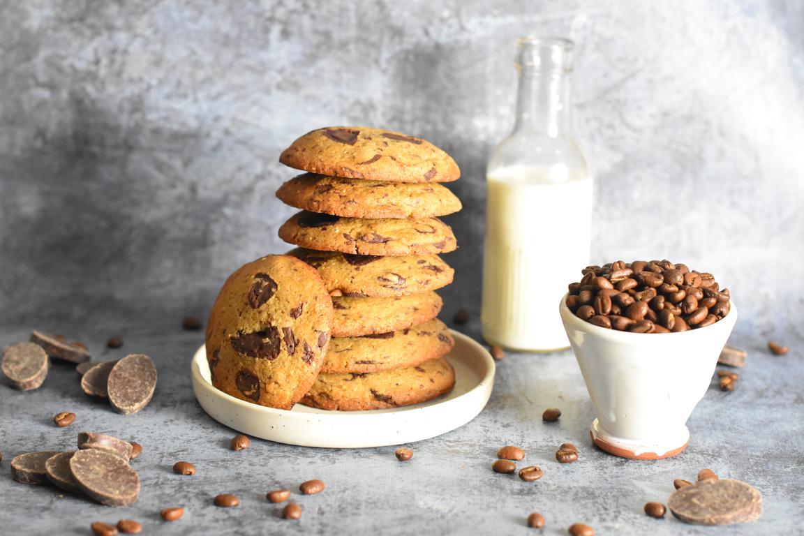 Cookies café & chocolat noir