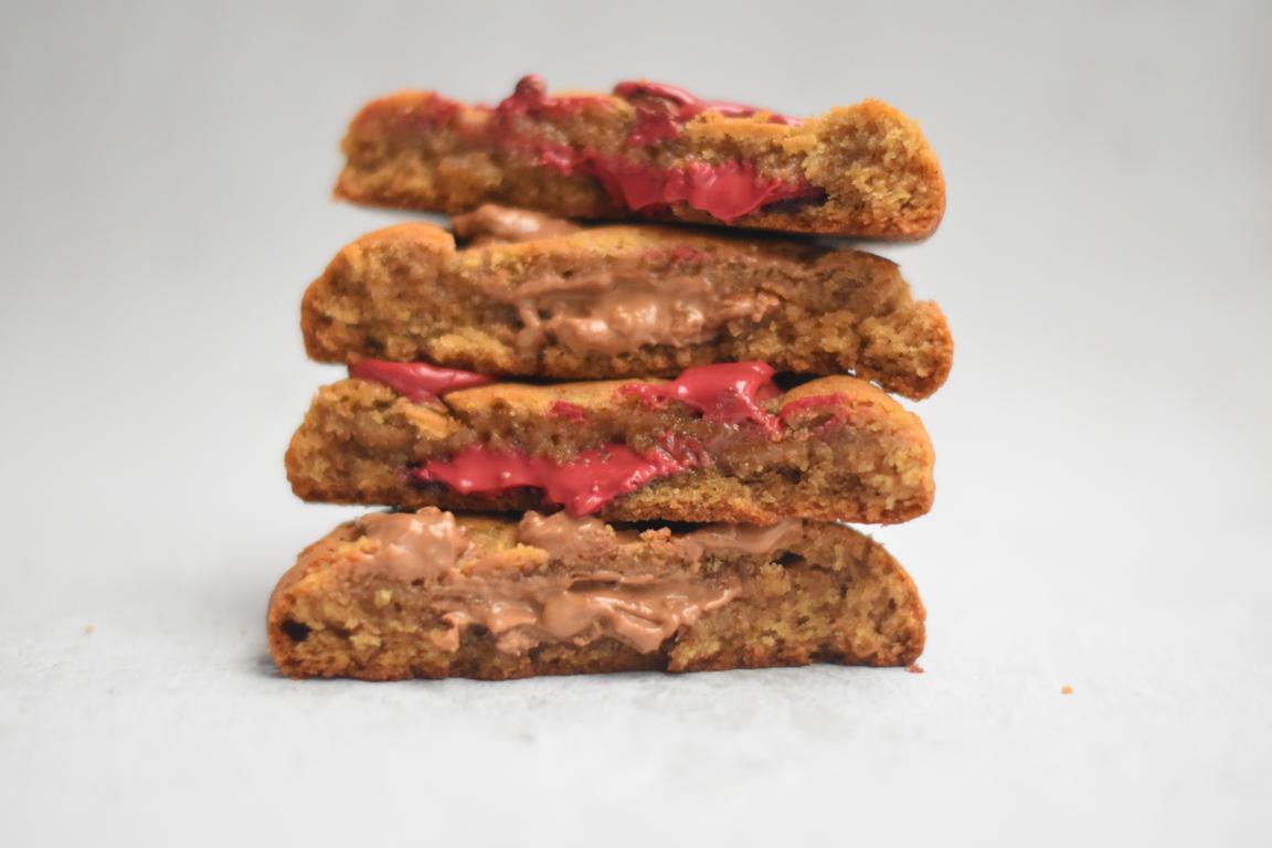 Cookies coeur choocolat (Karim Bourgi)