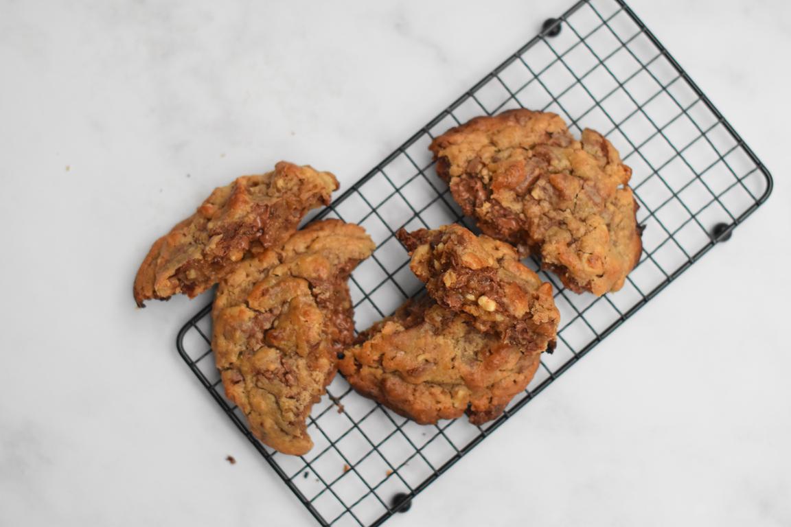 Cookies chocolat & noix, façon Levain Bakery