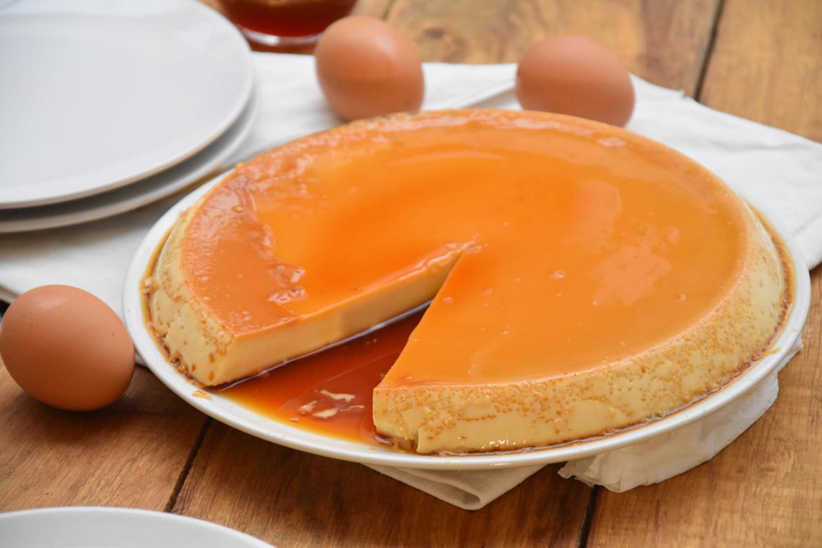 Flan aux oeufs (Crème caramel)