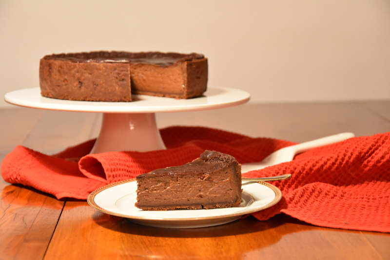 Flan pâtissier au chocolat (Yann Brys)