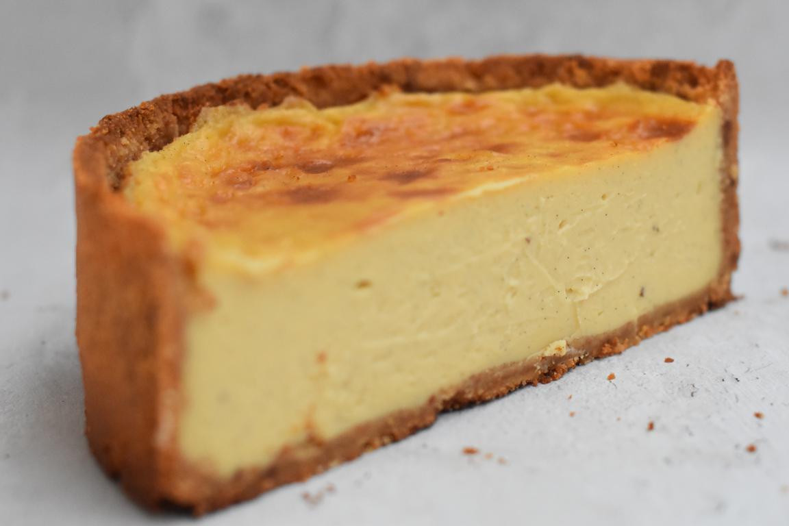 Flan pâtissier à la vanille (Julien Delhome)