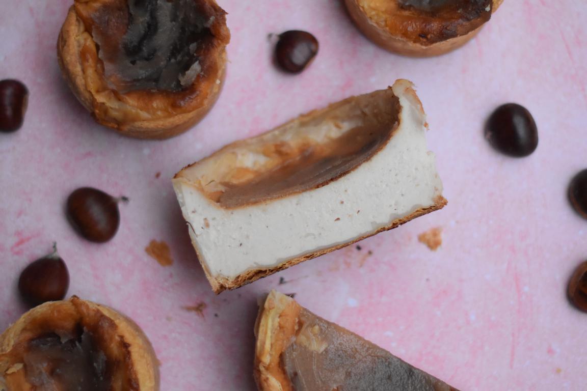Flan pâtissier à la crème de marron