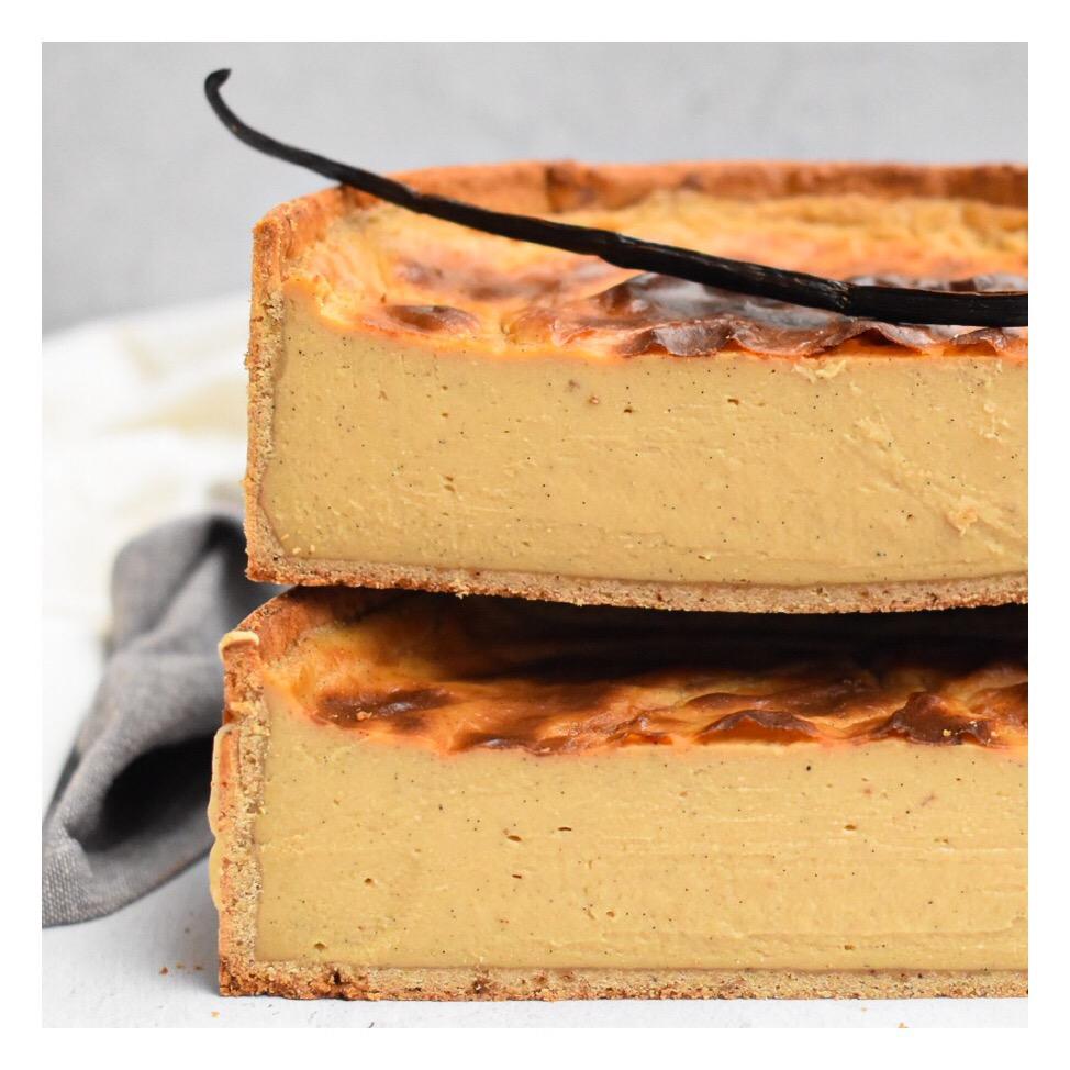 Flan pâtissier vanille & sucre muscovado