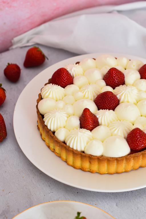 tarte fraise yaourt 11