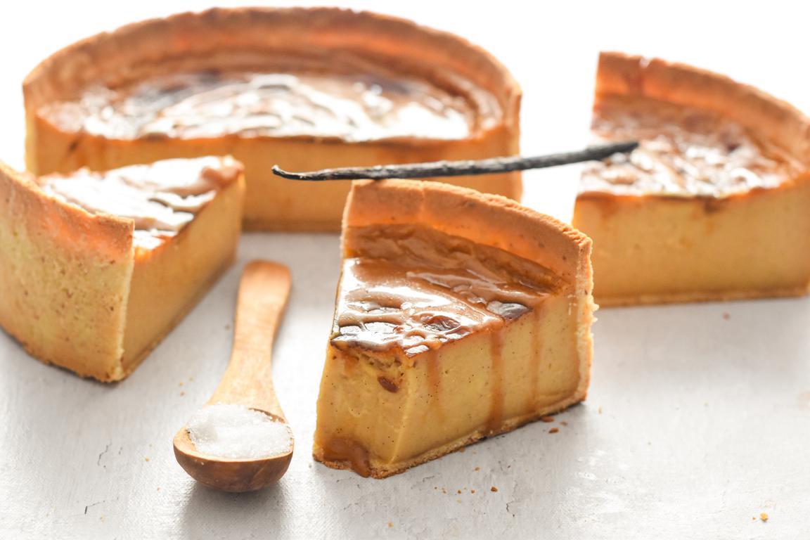 Flan caramel beurre salé & vanille
