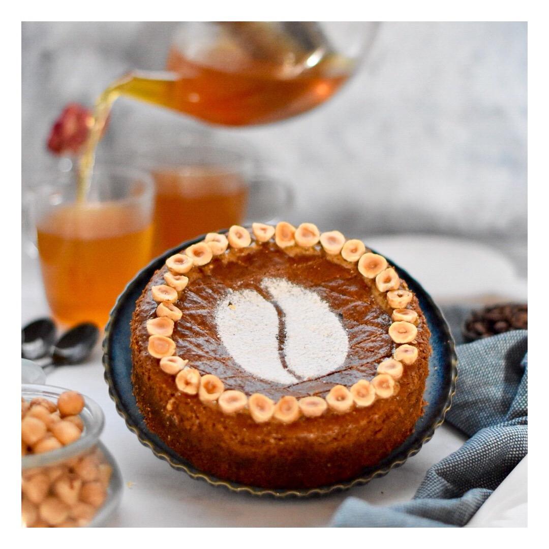 Gâteau basque au café (Nicolas Paciello)