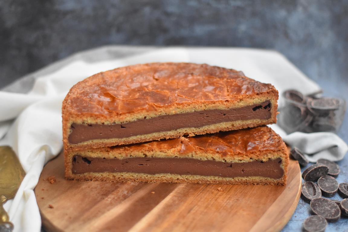 Gâteau basque au chocolat (François Perret)