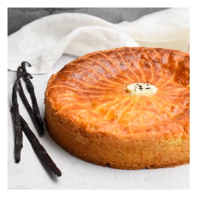 Gâteau basque à la vanille (Pablo Gicquel)