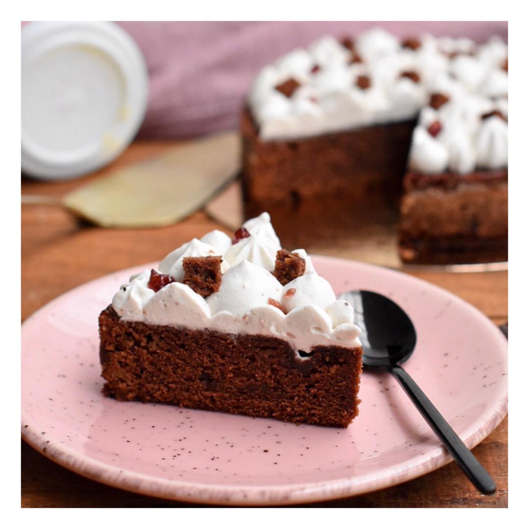 Gâteau au chocolat & chantilly