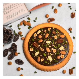 Tarte au chocolat façon mendiant (Benoît Castel)