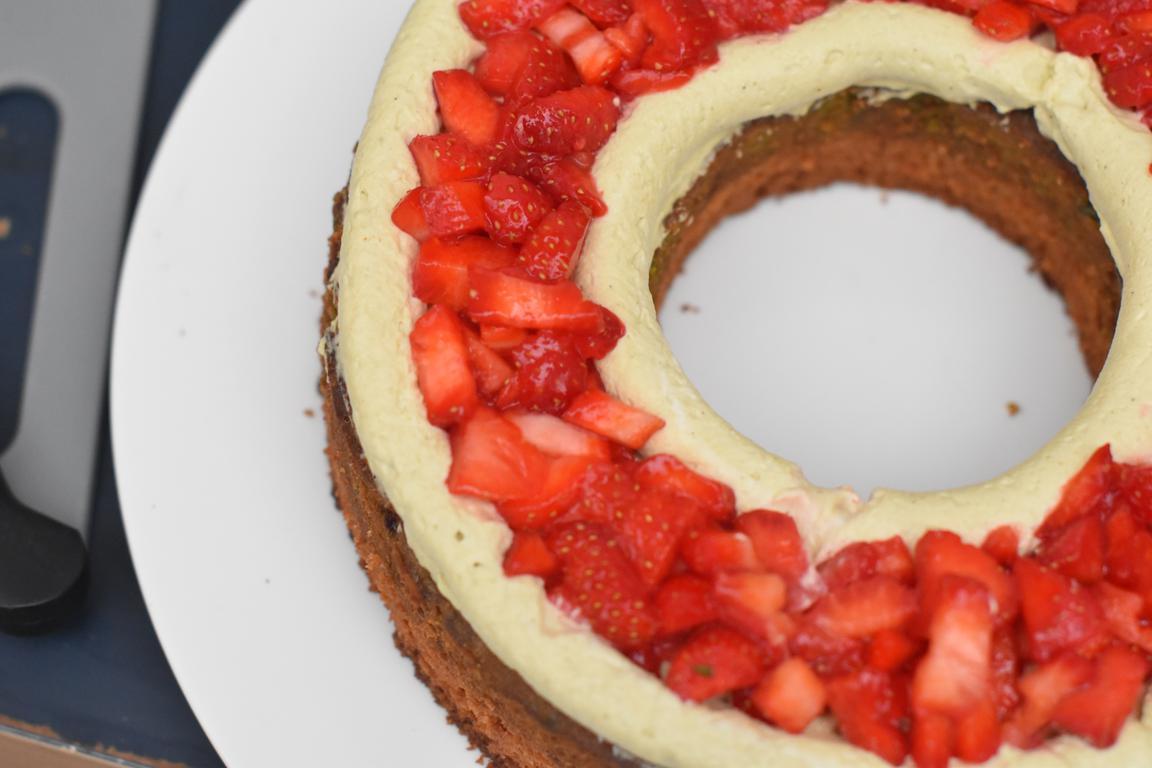 gateau pistache fraise 14