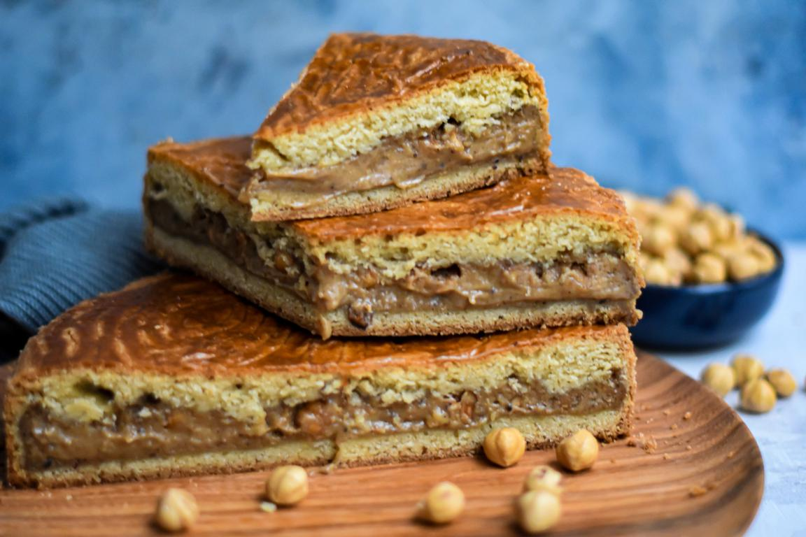 Gâteau basque à la noisette