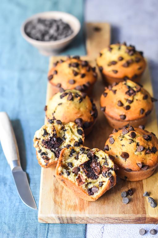 muffins pepites choco 12