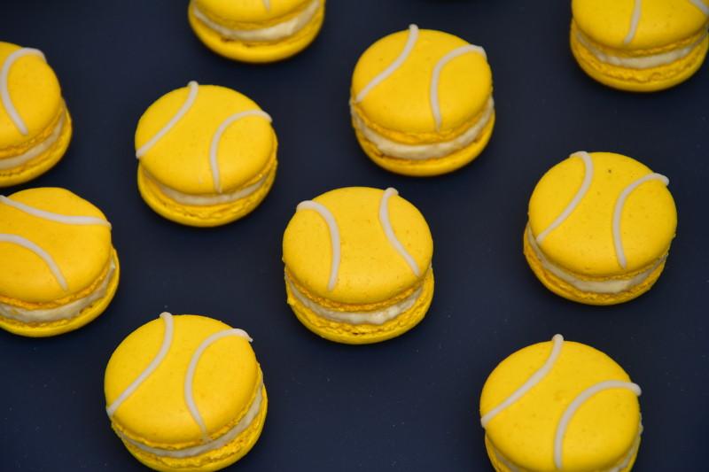 Macarons au citron façon balles de tennis (Pierre Hermé)