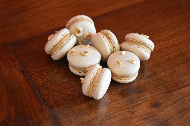 Macarons praliné noisette (Pascal Caffet)