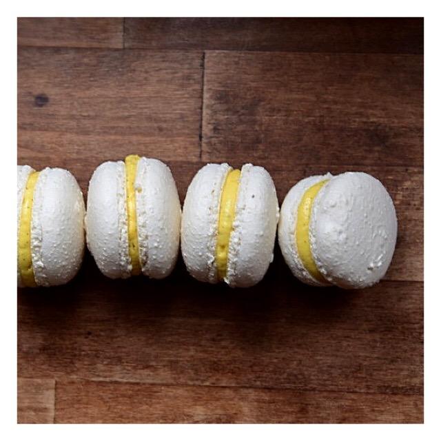 Macarons rhum & vanille