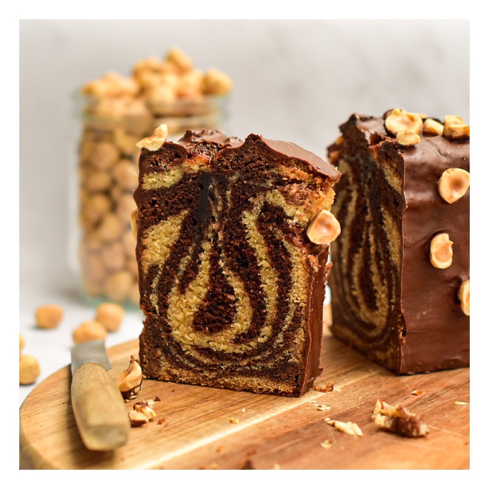 Marbré noisette & chocolat (Michaël Bartocetti)