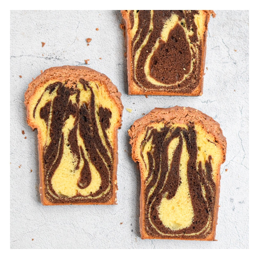 Cake marbré (Cyril Lignac)
