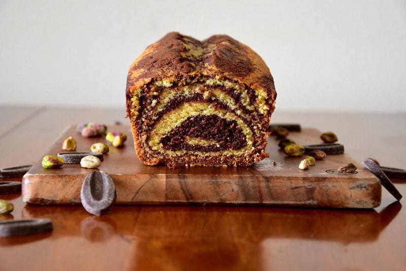 Marbré chocolat & pistache