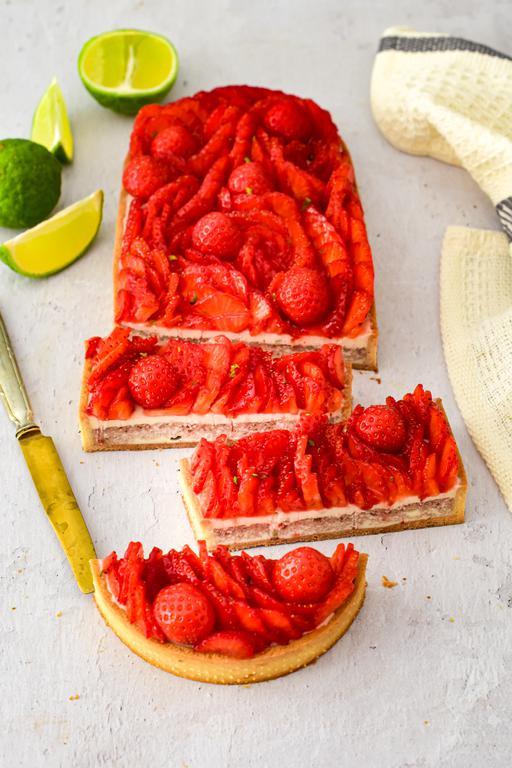 tarte pannacotta fraise combawa 14