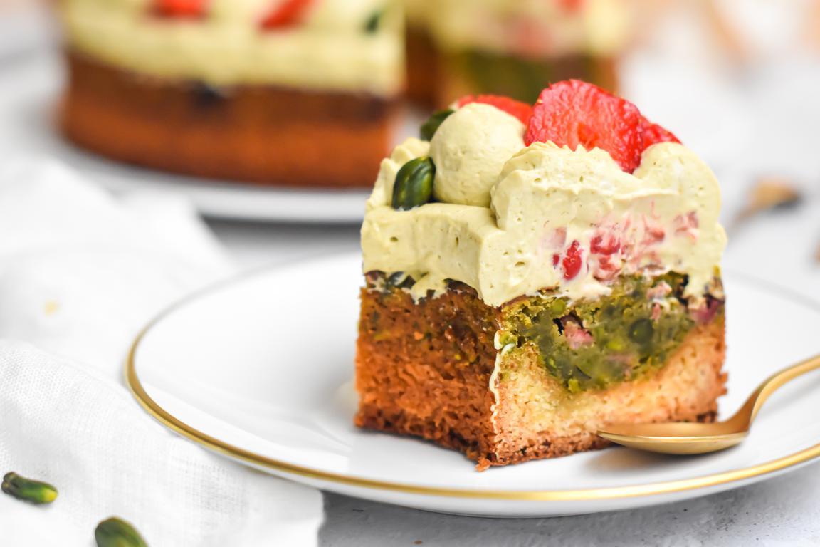 gateau pistache fraise 22