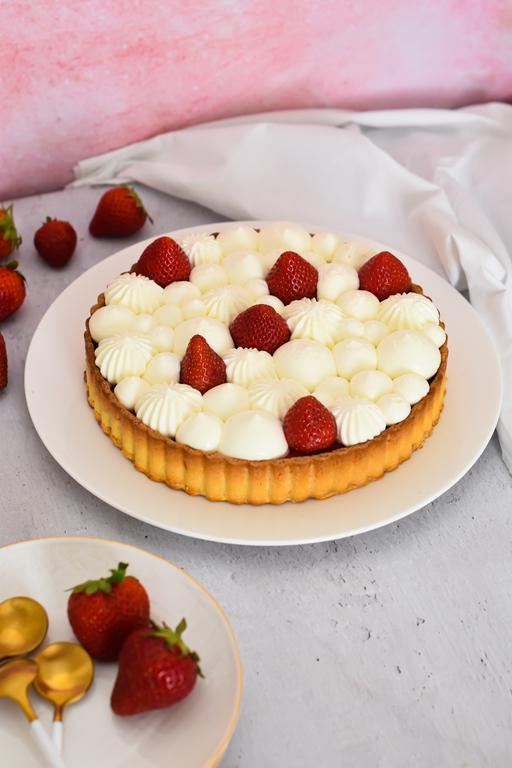 tarte fraise yaourt 10